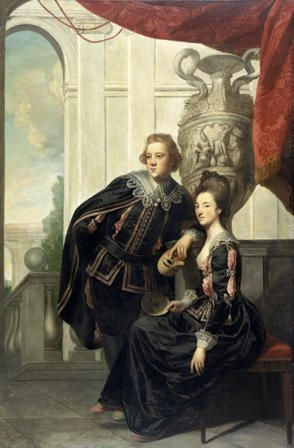 Sir Watkin Williams-Wynn (1749-1789) and Henrietta (Somerset), Lady Williams-Wynn  (1748-1769)