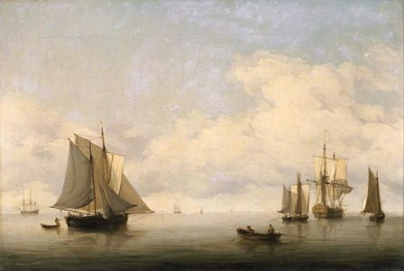 Seascape with Shipping
