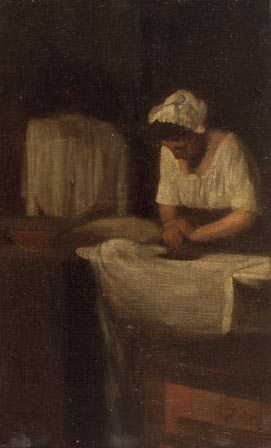 A Woman Ironing (The Laundress)