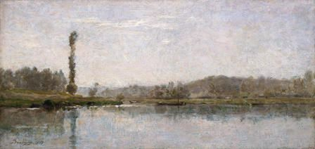 Morning on the Oise, Auvers