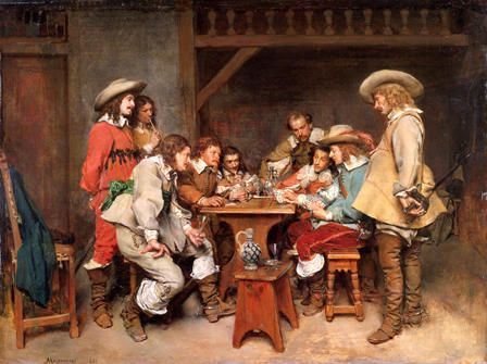 Innocents and Card Sharpers (A Game of Piquet)
