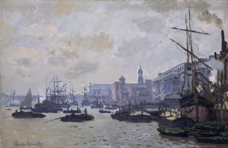 The Thames at London