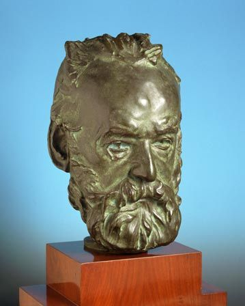 Head of Victor Hugo (1802-1885)