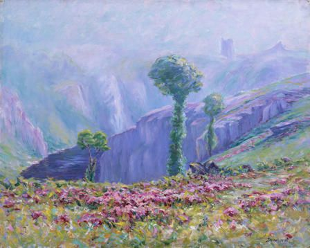 Summer Mist, Valley of La Creuse