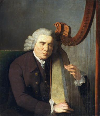 The Blind Harpist, John Parry (d.1782)