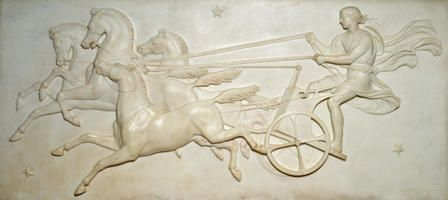Phaeton driving the Chariot of the Sun