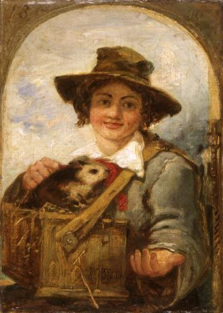 Italian Boy with a Guinea-pig