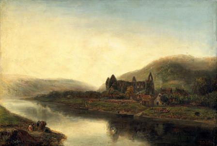 tintern abbey painting