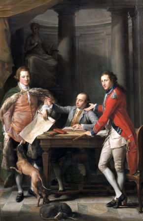 Sir Watkin Williams-Wynn (1749-1789), Thomas Apperley (1734-1819) and Captain Edward Hamilton