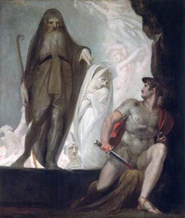 Teiresias foretells the Future to Odysseus