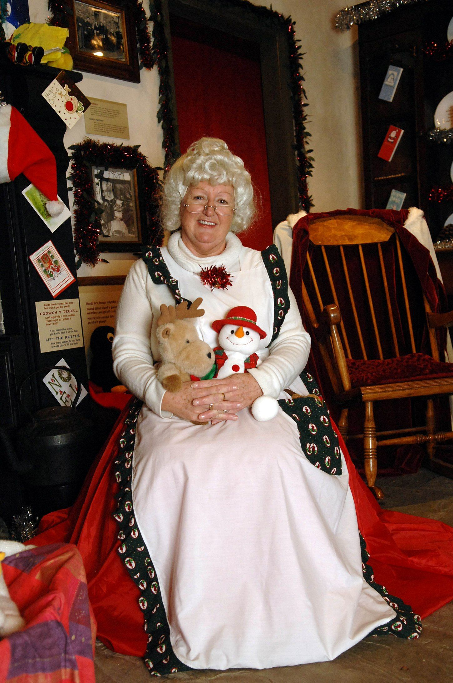 Mother Christmas.Breakfast And Brunch With Mother Christmas National Museum