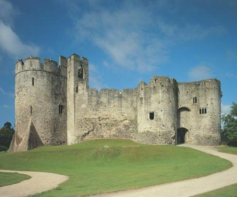 Chepstow Castle © Cadw, Welsh Assembly Government (Crown Copyright)