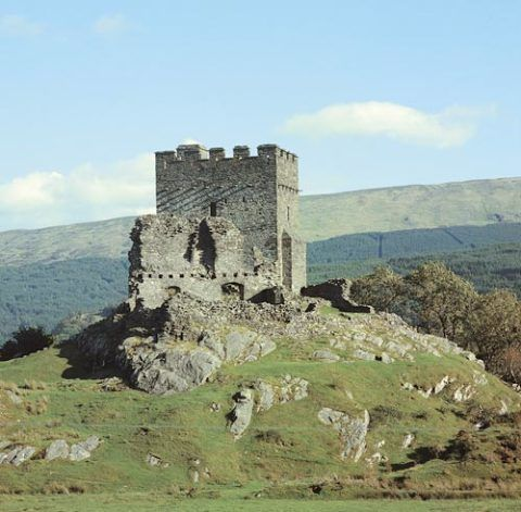 Dolwyddelan Castle. © Cadw, Welsh Assembly Government (Crown Copyright)