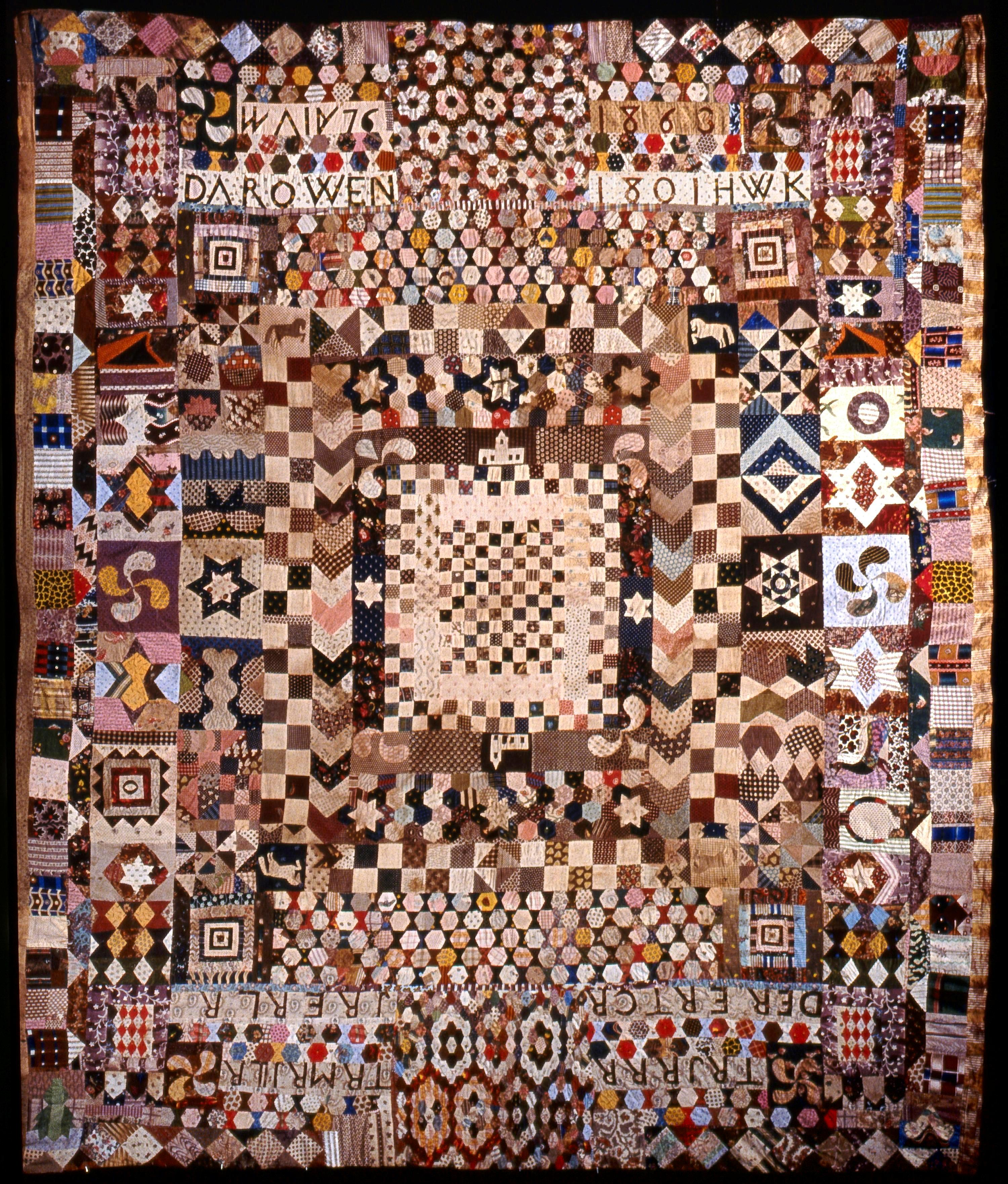 Patchwork bedcover