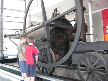 Richard Trevithick's Steam Locomotive