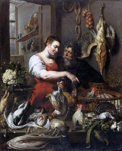 The Poulterer's Shop, Frans Snyders