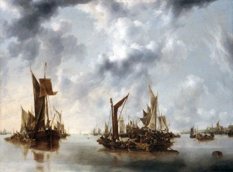 A Calm, Jan van de Capelle