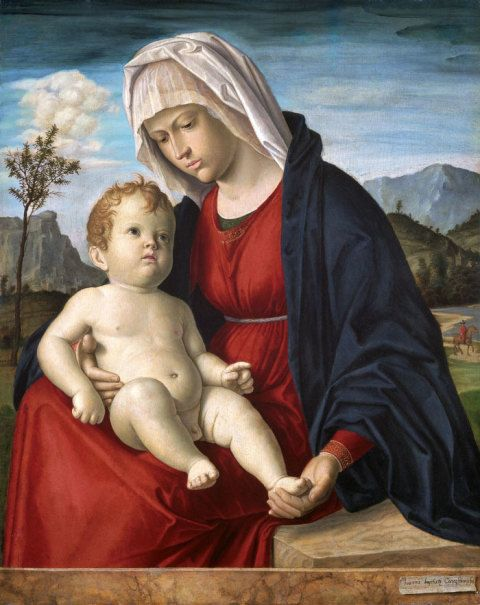 Virgin and Child, Cima da Congegliano