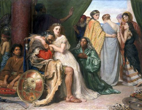 Jephthah, Sir John Everett Millais