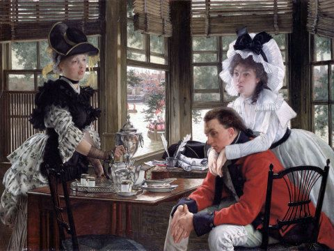The Parting, James Tissot
