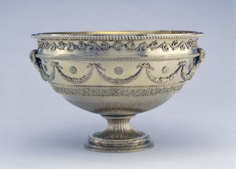 Thomas Heming, punch bowl designed by Robert Adam for Sir Watkin Williams Wynn