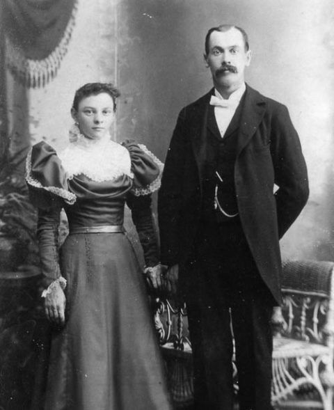 Griffith Owen-Jones and his wife Kate
