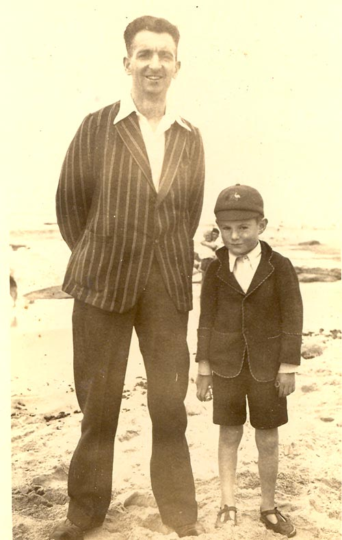 Philip Bowen Gibbon and his son Barrie, Loaned by Kay Staffen