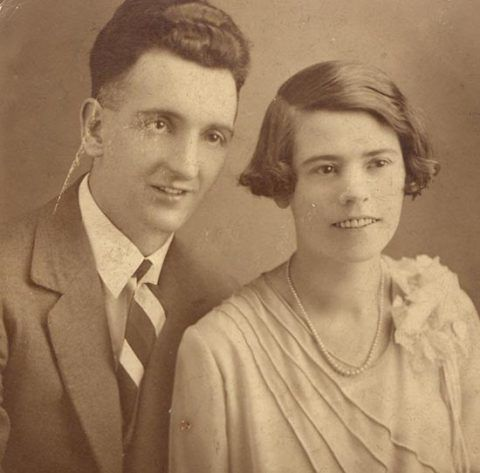 Philip Bowen Gibbon and his wife Minnie, Loaned by Kay Staffen
