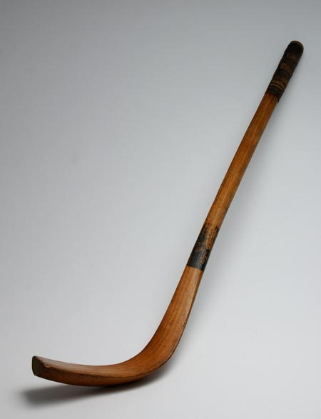 Bando stick from around 1845, belonging to Thomas Thomas, a member of the Margam Bando Boys
