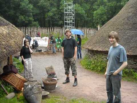 Cleaning the Celtic Village