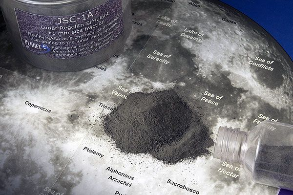 Lunar Soil sample