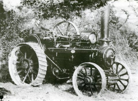 Tractor in military use.