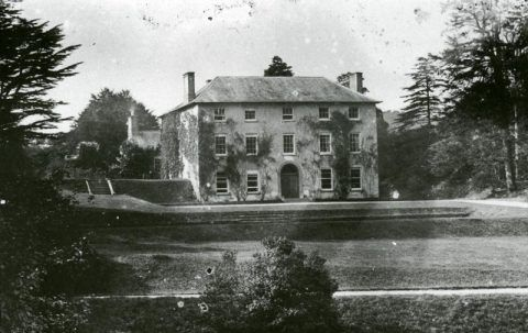 Castle Malgwyn, Llechryd, home of the Gower family